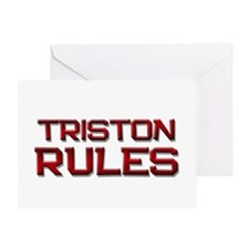 triston rules Greeting Card