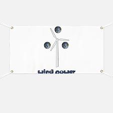 Wind Power Banner