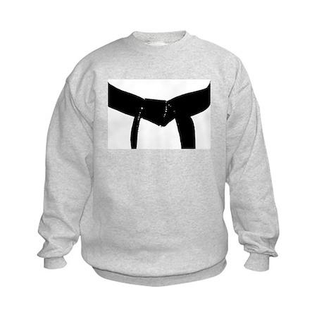 Martial Arts Black Belt Kids Sweatshirt
