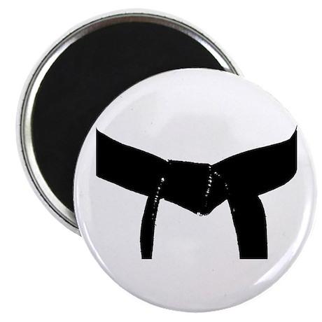 """Martial Arts Black Belt 2.25"""" Magnet (10 pack)"""