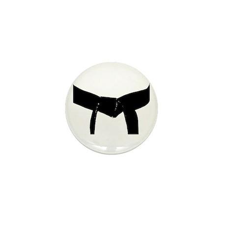 Martial Arts Black Belt Mini Button (100 pack)