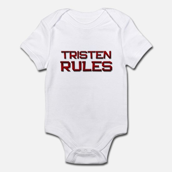 tristen rules Infant Bodysuit