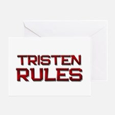 tristen rules Greeting Card