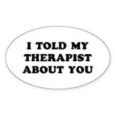 I Therapist Decal