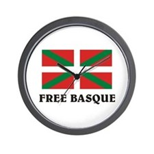 Free Basque Wall Clock