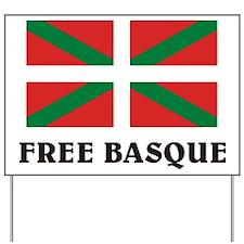 Free Basque Yard Sign