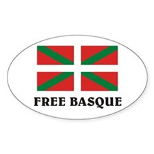 Free Basque Oval Decal