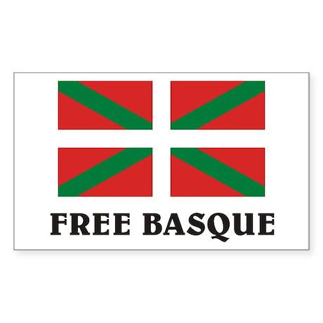Free Basque Rectangle Sticker