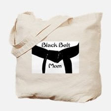 Black Belt Mom Tote Bag