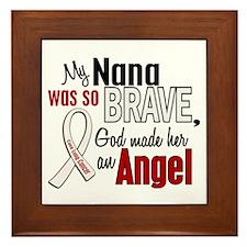 Angel 1 NANA Lung Cancer Framed Tile