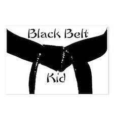 Black Belt Kid Postcards (Package of 8)