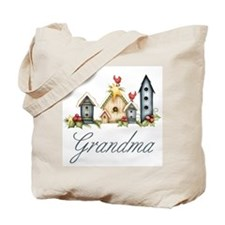 Birdhouses Grandma Tote Bag