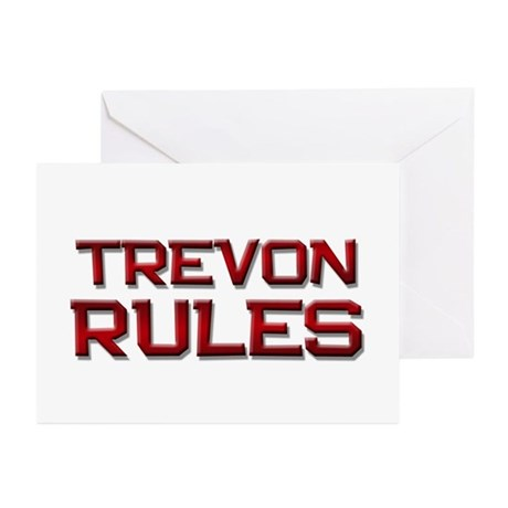 trevon rules Greeting Cards (Pk of 20)