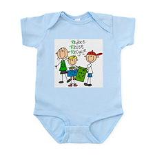 Reduce, Reuse, Recycle Infant Bodysuit