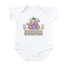 Egg Decorating Champion Infant Bodysuit