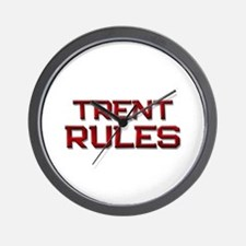trent rules Wall Clock