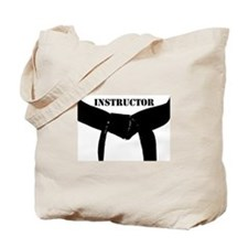 Martial Arts Instructor Tote Bag