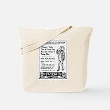 03/25/1909 - J.P. Gardner Tote Bag