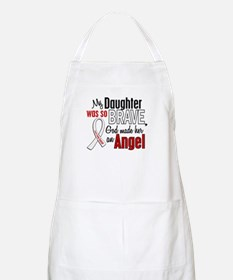 Angel 1 DAUGHTER Lung Cancer BBQ Apron