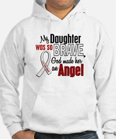 Angel 1 DAUGHTER Lung Cancer Hoodie