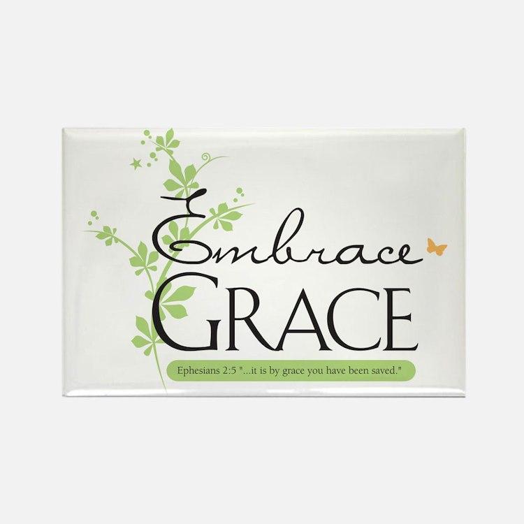 Embrace Grace Rectangle Magnet