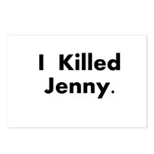 I Killed Jenny Gear! Postcards (Package of 8)