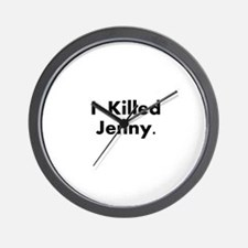 I Killed Jenny Gear! Wall Clock