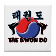 Tae Kwon Do Tile Coaster