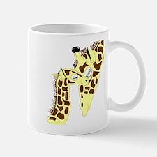 Mom and Baby Giraffes Mug