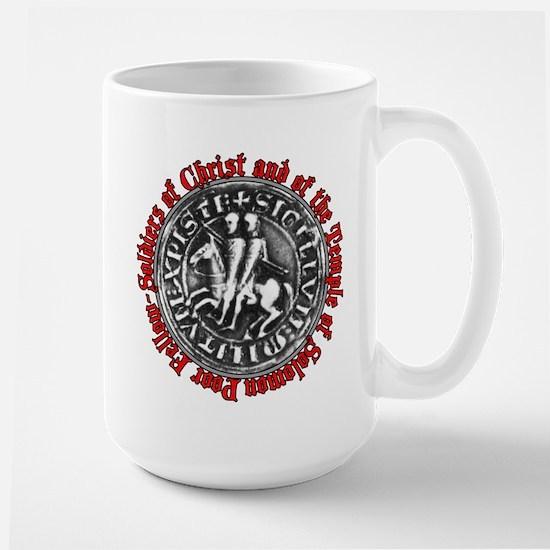 Knights Templar Seal Large Mug