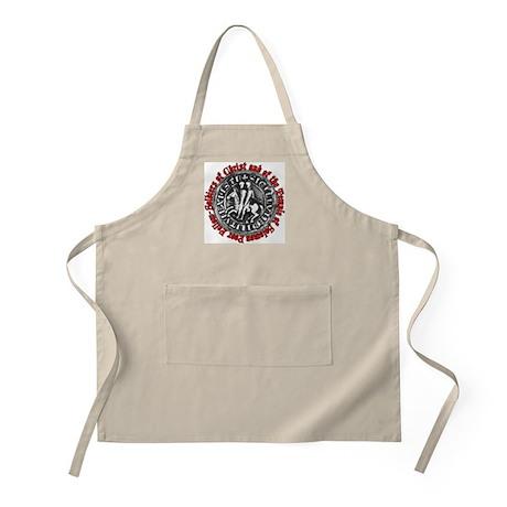 Knights Templar Seal BBQ Apron