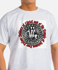 Knights Templar Seal T-Shirt