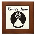 Bride's Sister Framed Tile