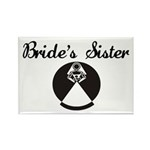 Bride's Sister Rectangle Magnet (100 pack)
