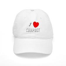 I love compost Baseball Cap