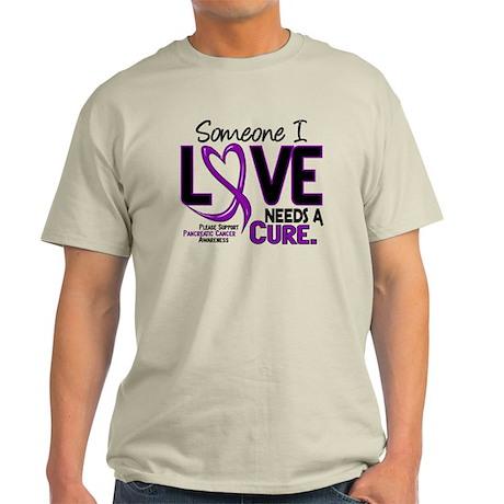 Needs A Cure 2 PANCREATIC Light T-Shirt
