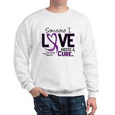 Needs A Cure 2 PANCREATIC Sweatshirt