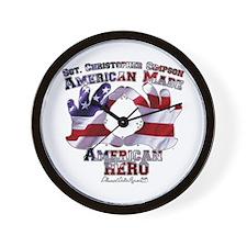 Sgt. Simpson Wall Clock