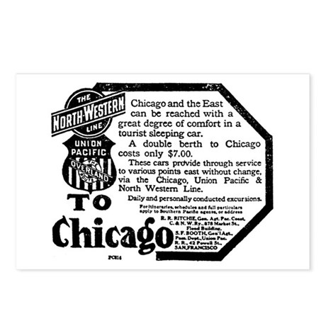 03/25/1909 - Union Pacific Postcards (Package of 8