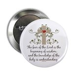 """The Fear Of The Lord 2.25"""" Button"""