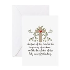 The Fear Of The Lord Greeting Card