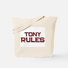 tony rules Tote Bag