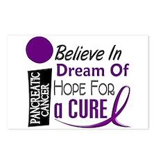 BELIEVE DREAM HOPE Pancreatic Postcards (Package o