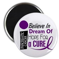 BELIEVE DREAM HOPE Pancreatic Magnet