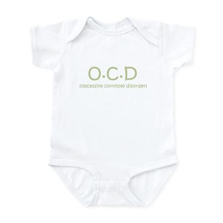 Obcessive Cornhole Disorder Infant Bodysuit