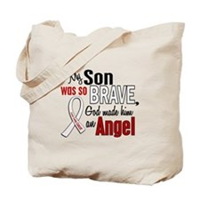Angel 1 SON Lung Cancer Tote Bag