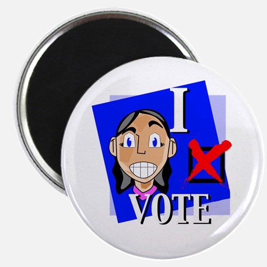 "I Vote 2.25"" Magnet (10 pack)"