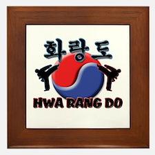 Hwa Rang Do Framed Tile