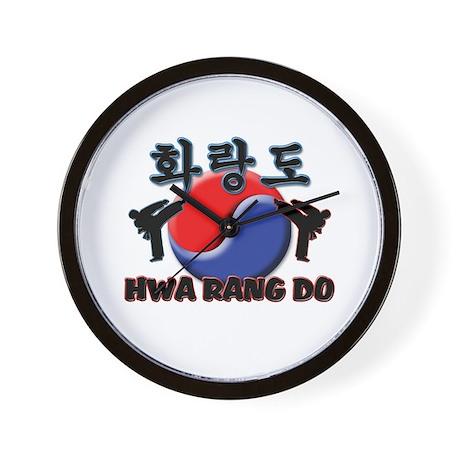 Hwa Rang Do Wall Clock