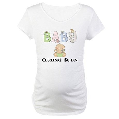 Baby Coming Soon Maternity T-Shirt